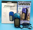 Garmin eTrex Legend GPS Personal Navigator with Manual and VHS Tape