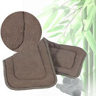Washable Adult Cloth Diaper Insert Incontinence Pant Charcoal Pad 5 Layers New