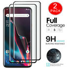 For OnePlus 7 Pro / 6T / 6 - FULL COVER Tempered Glass Screen Protector [2-Pack]