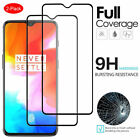 For OnePlus 7T 7 Pro 6T 6 - FULL COVER Tempered Glass Screen Protector [2-Pack]