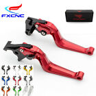 FXCNC 3D Camber Brake Clutch Levers For Honda Kawasaki Yamaha Suzuki Triumph BMW $29.69 USD on eBay