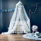 Crib Mosquito Neting Dome Hanging Bed Canopy Kids Teepee Home Nursery Decor Tent image