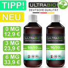 E Liquid Base 1000ml mit Nikotin 3mg, 6mg in 50/50 & 70/30 ⭐ 1L UltraBio 1 Liter