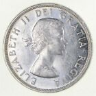 Silver Dollar 80% 1961 Canada Canadian ASW .60 Troy Ounces *658
