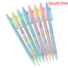 2pcs 0.5/0.7mm Candy color mechanical pencil cute automatic pens stationery Fh