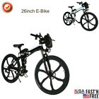 26inch 250W 21Speed Foldable Electric Power Mountain Bicycle for Men