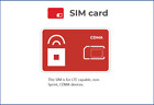 $30/Mo Red Pocket Prepaid Wireless Phone Plan+Kit: Unlimited Everything+5GB LTE