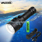 Внешний вид - 10000LM Scuba Diving XM-L T6 LED Powerful Dive Flashlight 18650 Underwater 100m