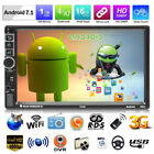Doppel 2DIN 7 Android 7.1 Quad Core 3G Wifi GPS Fm Radio Stereo MP5 Player