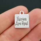 Fairy Stainless Steel Charm - Fairies are Real - Quantity Options - BFS793