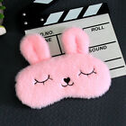 Goggles Eye mask blinder patch plush eye shade cover sleeping rabbit