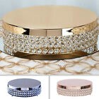 """13.5"""" wide Metal Beaded CAKE STAND Wedding Party Home Birthday Decorations SALE"""