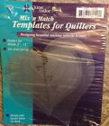 JUNE TAILOR Mix'n Match Templates For Quilters 6/Pkg-HEART #JT-412