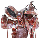 Amazingly Comfy Ranch Work Roping Trail Western Children Horse Saddle Tack 12 13