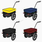 FoxHunter Cargo Trailer Bicycle Luggage Storage 70L Cart Removable Cover FH-CT01