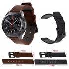 Genuine Leather Watch Band Strap For Samsung Gear S3 Frontier Classic 46mm Belt  image