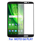 For Motorola Moto G6 Play Coverage FULL COVER Tempered Glass Screen Protector 9H