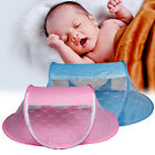 43in Portable Summer Baby Infant Mosquito Nets Tent Foldable Newborn Cot Netting image