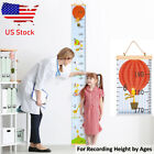 Kids Growth Chart Wall Hanging Height Measure Ruler Child Room Decor Unicorn Us