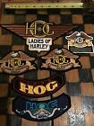 Rare Lot of 5 HOG Harley Owners Group Patches and 1 Sticker