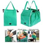 Reusable Grocery Shopping Tote Bags Eco Foldable Trolley Cart Storage Bag