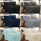 Bed Sheet Set 1800 count Ultimate Soft 4 Piece Set bedding  Deep Pocket  image