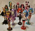 MONSTER HIGH DOLLS - LOT OF 13 MATTEL MOSTER HIGH DOLLS WITH ACCESSORIES