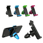 Universal Car Air Vent Phone Holder GPS 4color FOR Phone XS 8 7 Plus 6s Samsung