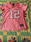 Aaron Rodger Jersey Pink Women's Large NFL Green Bay Packers