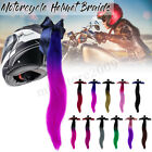 Gradient Ramp Helmet Braids / Ponytail Helmet Hair Pigtails For Motorcycle