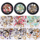 3D Nail Beads Rhinestones Ocean Theme Irregular Nail Rivets Nail Accessories