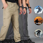 Men's Summer  Quick Dry  Outdoor Hiking Combat Trousers Tactical Sports Pants
