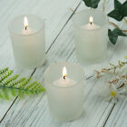 CANDLE HOLDERS Frosted Votive Wedding Favor Centerpiece Decorations Wholesale