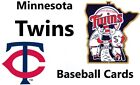 You Pick Your Cards - Minnesota Twins Team - Baseball Card Selection on Ebay