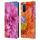 HEAD CASE DESIGNS FLOWERS LEATHER BOOK WALLET CASE FOR SAMSUNG PHONES 1