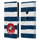 OFFICIAL ENGLAND RUGBY UNION KIDS LEATHER BOOK WALLET CASE FOR SONY PHONES 1