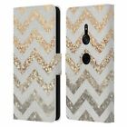 MONIKA STRIGEL GOLD & GLITTER COLLECTION LEATHER BOOK CASE FOR SONY PHONES 1