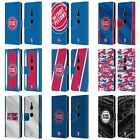 OFFICIAL NBA DETROIT PISTONS LEATHER BOOK WALLET CASE FOR SONY PHONES 1 on eBay