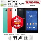 New Sim-free Unlocked Sony Xperia Z3 Compact D5803 2gb/16gb Black Android Phone