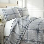 Vilano Plaid Reversible Lightweight Quilt Sets image