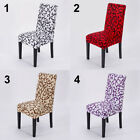 Removable Stretch Chair Covers Slipcovers Dining Room Stool Seat Cover Decor New