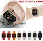 Apple Watch Series 54321 Waterproof Armor Case Cover+Silicone Band Strap 40/44mm image