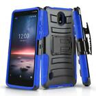 for NOKIA 3.1A (AT&T), [Refined Series] Phone Case Cover & Swivel Holster Clip