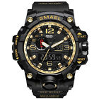Herren Sportuhren Military Shock Analog Quarz Digital Armbanduhr Wasserdicht DE