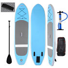 10' Inflatable Stand Up Paddle Board w-Adjustable Paddle Leash Pump Backpack New