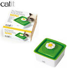 CATIT 1.5LTR MINI FLOWER FOUNTAIN CAT KITTEN FRESH FILTERED WATER & FILTER MEDIA