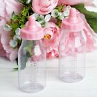 4.5-Inch tall Plastic Milk Bottles Baby Shower Favors Gifts Decorations Supplies