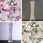 "24"" tall Faux Crystal Beaded VASE CENTERPIECE Wedding Party Catering Decorations"