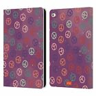OFFICIAL emoji® HIPPIE CHIC LEATHER BOOK WALLET CASE COVER FOR APPLE iPAD