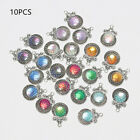 Decorative Pretty Beads Fish Scale Pendants Making Findings Mermaid Charms